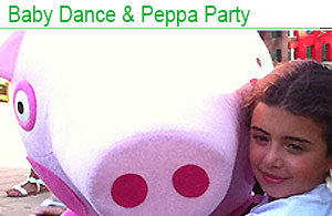 Peppa Party con Baby Dance
