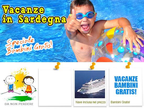 Bed and breakfast sardegna offerta bambino gratis nave for Vacanze in sardegna con bambini