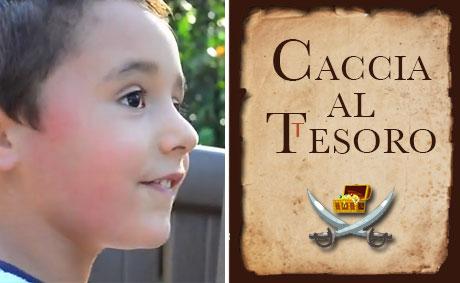 Caccia al tesoro per bambini