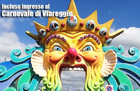 Ingresso Carnevale di Viareggio 2015