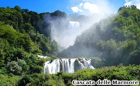 Cascata delle Marmore Terni, Umbria