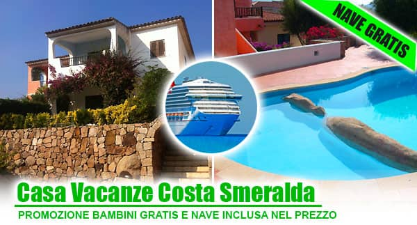 Offerte Sardegna con bambini gratis.