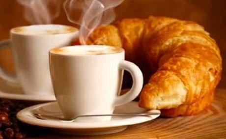 Prima colazione in Hotel