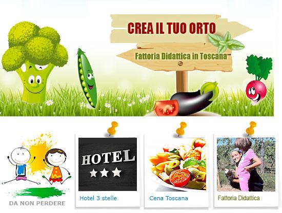 Fattoria didattica in Toscana