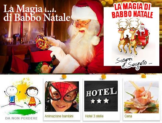 La Magia di Babbo Natale Montecatini Terme Toscana