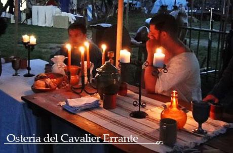 cena con i cavalieri erranti per il ponte 2 giugno