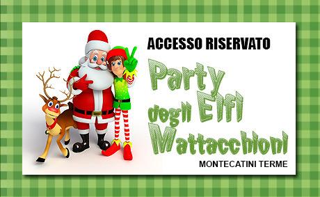 Casa di Babbo Natale e il Party degli Elfi Mattacchioni