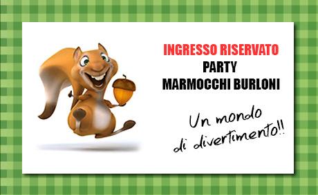Party Marmocchi Burloni al Carnevale di Viareggio 2015