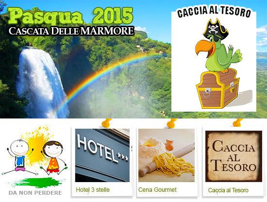 Pasqua 2015 in Umbria alla Cascata delle Marmore