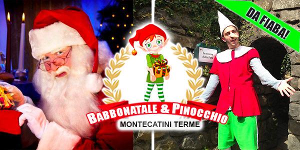Babbo Natale Montecatini Terme 2021