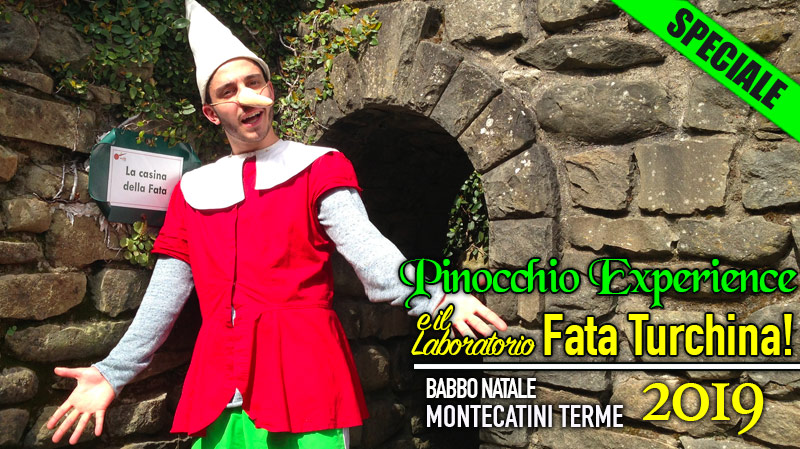 Pinocchio Experience Babbo Natale Montecatini Terme