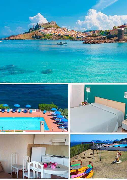 Sardegna luglio villaggio turistico con bambini gratis