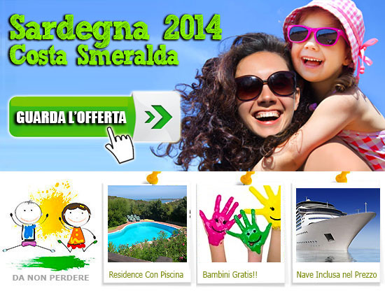 Bambini travel vacanze con bambini in offerta last minute for Vacanze in sardegna con bambini