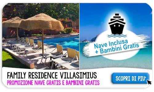 Offerte Villasimius Sardegna Luglio 2021