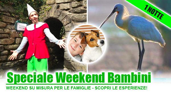Offerte weekend con bambini in Toscana