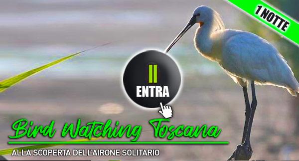 Weekend in Toscana con bambini: bird watching e turismo naturalistico