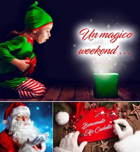 Offerta famiglia weekend con Babbo Natale