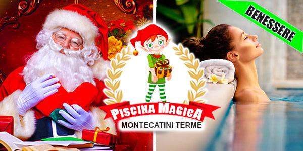 Montecatini Villaggio Babbo Natale.La Piscina Di Babbo Natale Montecatini Terme 2019